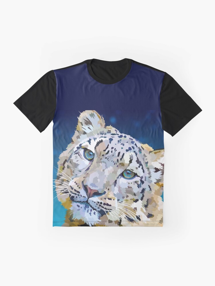 Alternate view of Snow Leopard Graphic T-Shirt