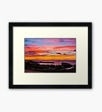 Colourful Skies Framed Print