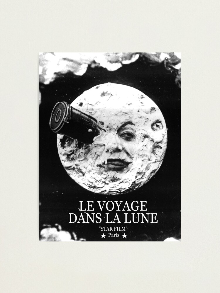 Alternate view of A Trip to the Moon (Le Voyage Dans La Lune)  Photographic Print