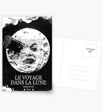 A Trip to the Moon (Le Voyage Dans La Lune)  Postcards