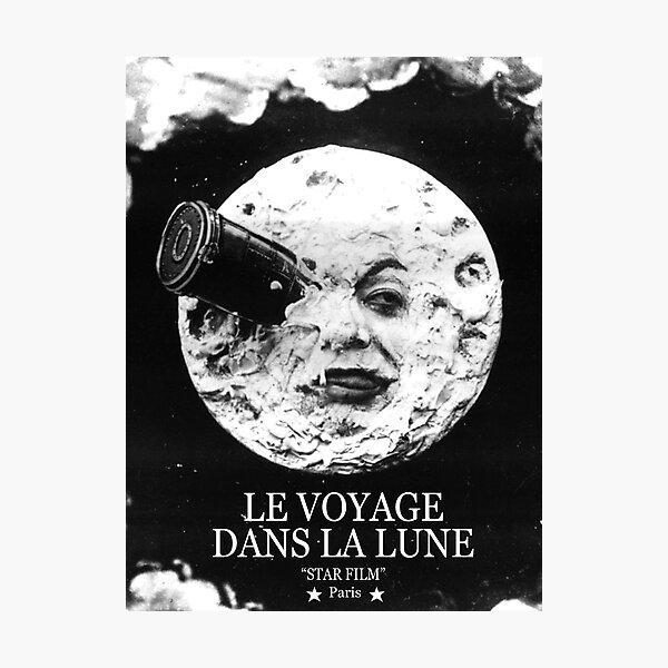 dont les romans de Jules Verne De la Terre à la Lune et Autour de la Lune Impression photo
