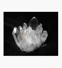 Quartz Crystals Photographic Print