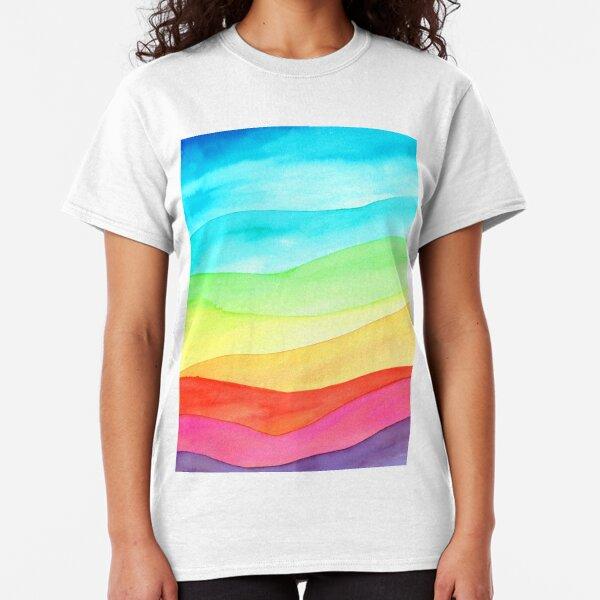 Collines arc-en-ciel T-shirt classique