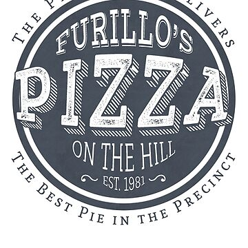 Furillo's Pizza On The Hill (slate) by GeekHappens