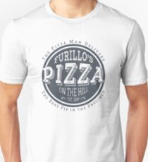Furillo's Pizza On The Hill (slate) Unisex T-Shirt