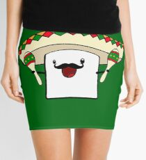Mexican Marshmallow Mini Skirt