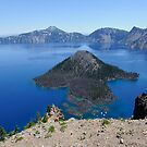 Crater Lake Volcanic Crater Oregon USA by John Kelly Photography (UK)