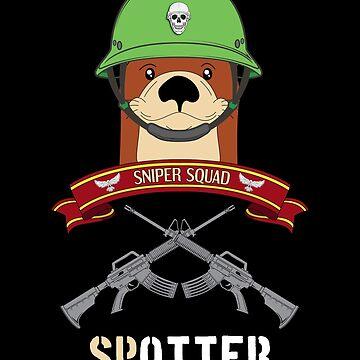 Otter Soldier Sniper Spotter U.S. Veteran Squad by Basti09