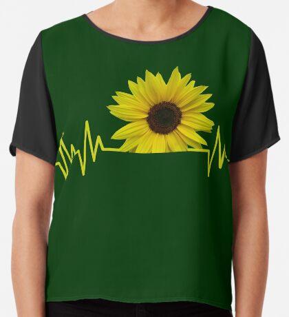 sunflowerbeat Chiffontop