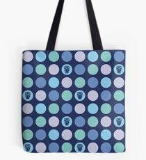 Dotty Wildlife - Owls Tote Bag