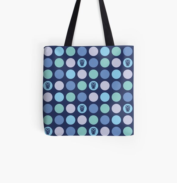 Dotty Wildlife - Owls All Over Print Tote Bag
