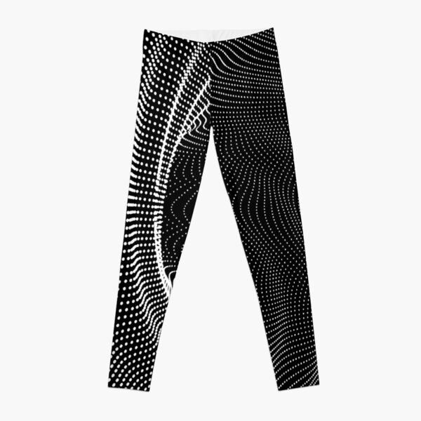 #blackandwhite #photography #monochrome #circle #abstract #pattern #dark #design #rug #spiral #horizontal #blackcolor #inarow #textured #nopeople #backgrounds Leggings
