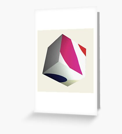 cube 7 Greeting Card