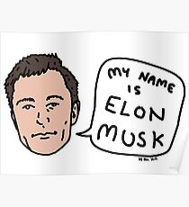My Name Is Elon Musk Poster