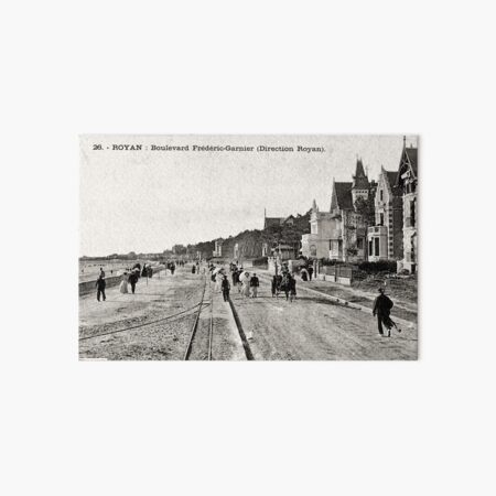 Boulevard Frédéric Garnier Impression rigide