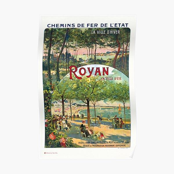 Affiche de Royan 1900 Poster