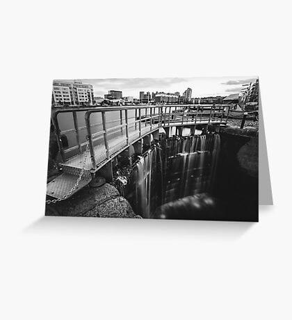 Grand Canal Dock Greeting Card