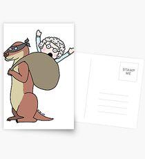 Gran Theft Otter Postcards