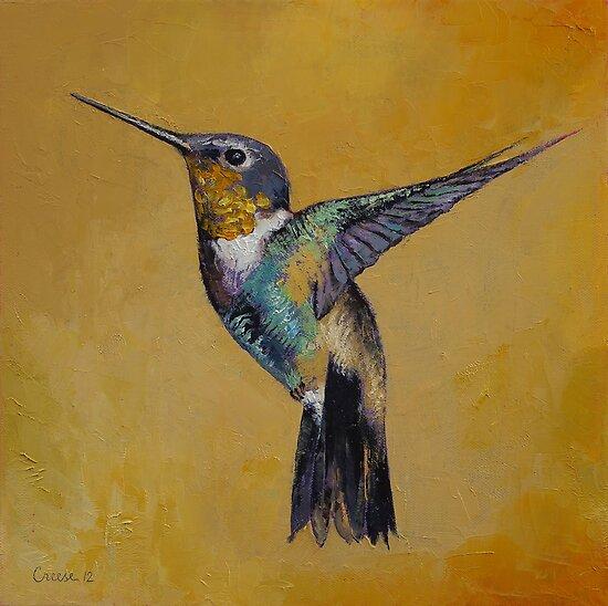 Hummingbird by Michael Creese