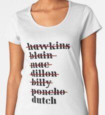 Dutch is Last - Predator Women's Premium T-Shirt