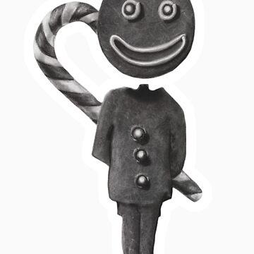 gingerbic man by burntwoodstudio