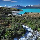 Pukaki Blue by Matt Halls