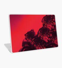 dark red rose Laptop Skin