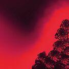 dark red rose by cglightNing