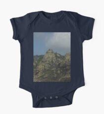 a desolate Macedonia landscape Kids Clothes