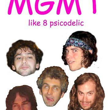 'like 8 psicodelic' MGMT by whoisannamarie