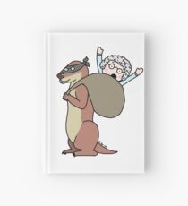 Gran Theft Otter Hardcover Journal