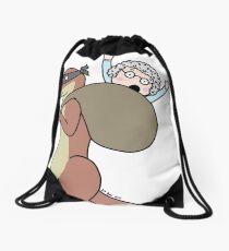 Gran Theft Otter Drawstring Bag