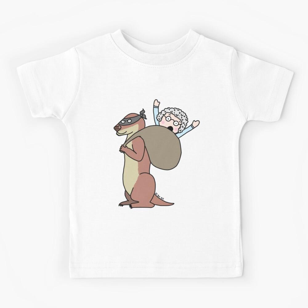Gran Theft Otter Kids T-Shirt