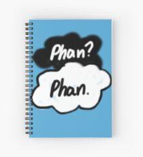 Phan? Phan. Danisnotonfire Amazingphil Spiral Notebook