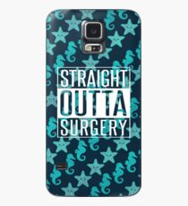 Straight Outta Surgery Get Well Soon Gift Case/Skin for Samsung Galaxy