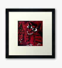 Zorro & Snapper Framed Print