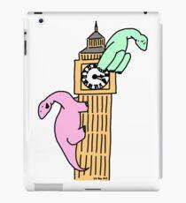 Dinosaurs on Big Ben iPad Case/Skin