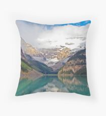 LAKE LOUISE, ROCKY MTS, CANADA Throw Pillow