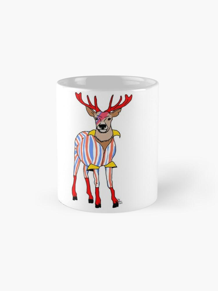 Alternate view of Deervid Bowie Mug