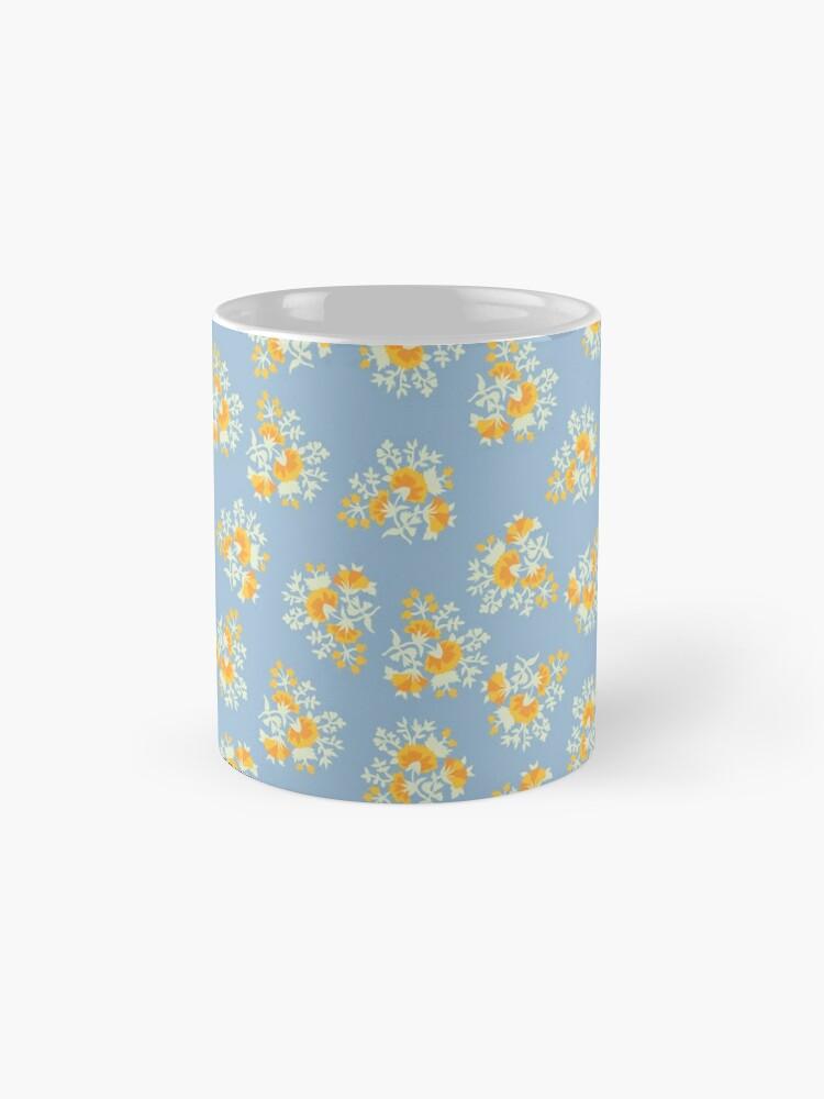 Alternative Ansicht von Helle Blumen 2 Tassen