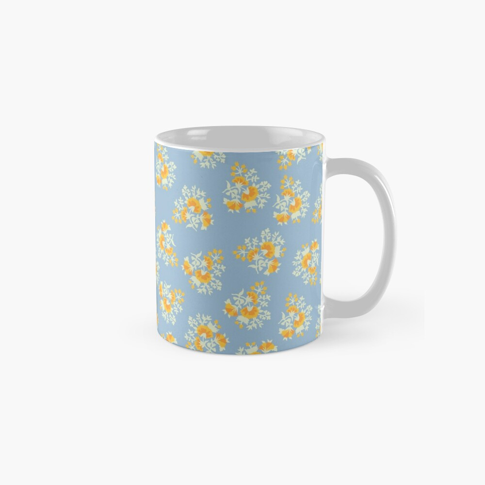Helle Blumen 2 Tassen