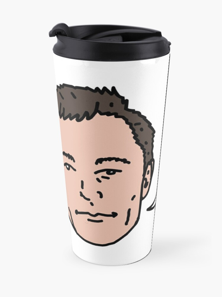 Alternate view of My Name Is Elon Musk Travel Mug