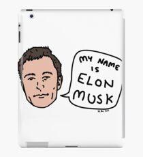 My Name Is Elon Musk iPad Case/Skin