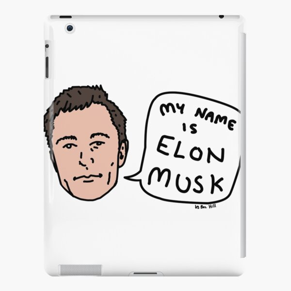 My Name Is Elon Musk iPad Snap Case