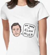 My Name Is Elon Musk Women's Fitted T-Shirt