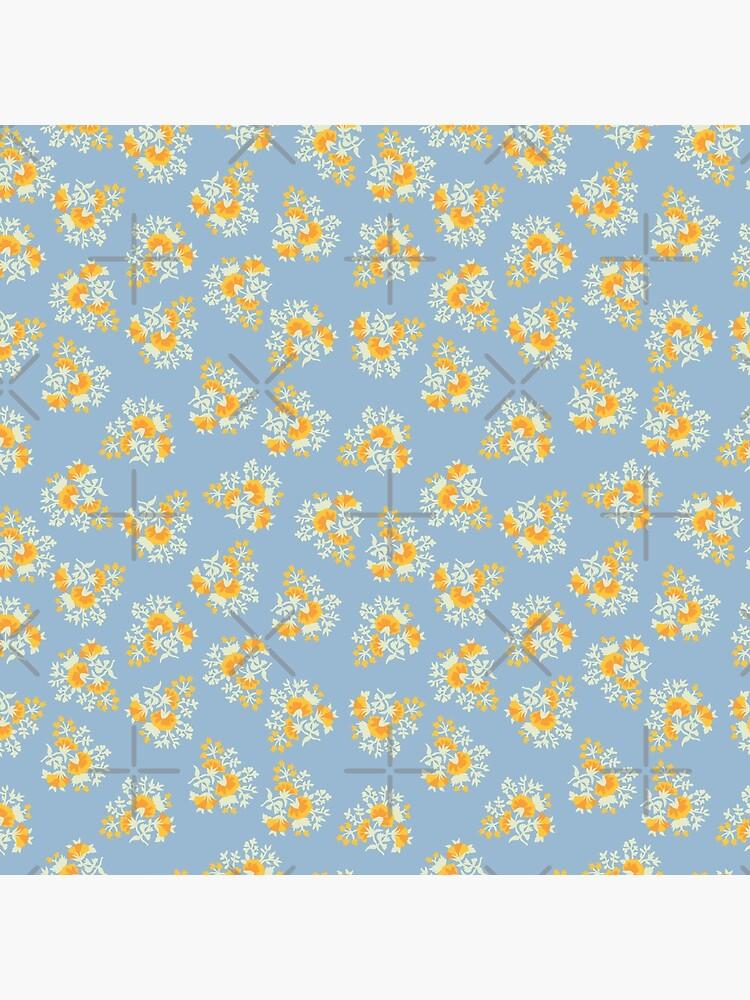 Helle Blumen 2 von ArtofACoonhound
