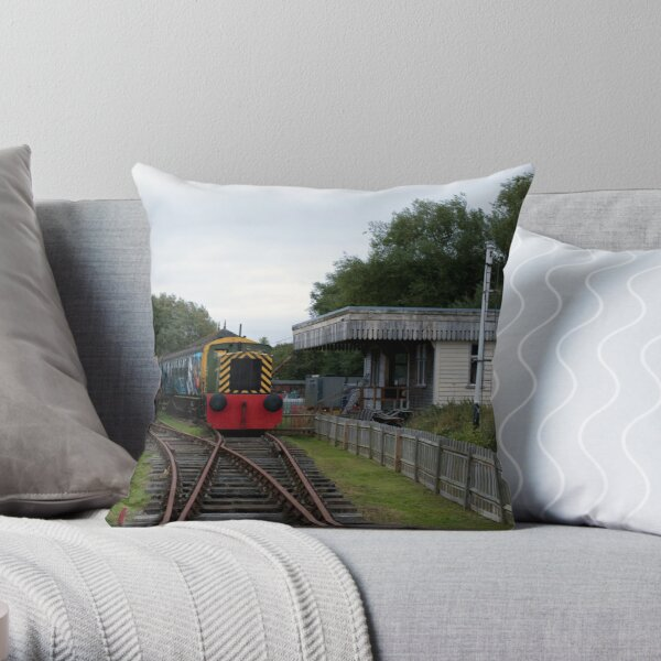 End Of The Line 11 Throw Pillow