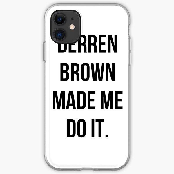 Derren Brown Made Me Do It iPhone Soft Case