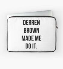 Derren Brown Made Me Do It Laptop Sleeve