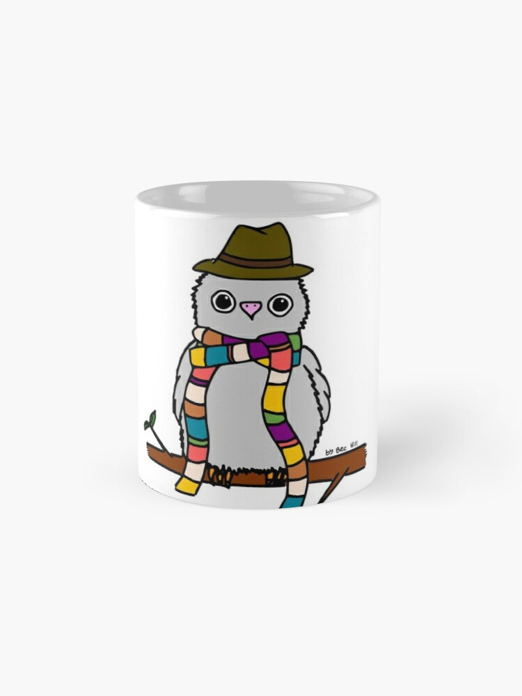 Alternate view of Dr Hoo Mug